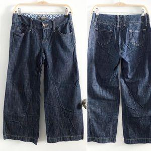 Banana Republic wide leg jeans